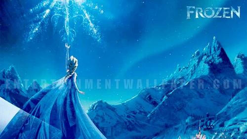 Elsa The Snow Queen Wallpaper Titled Frozen