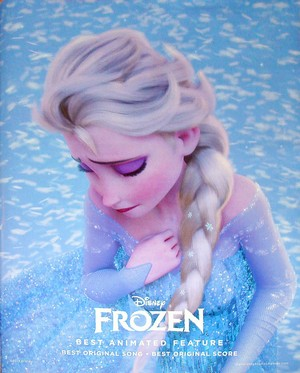 frozen Awards Poster