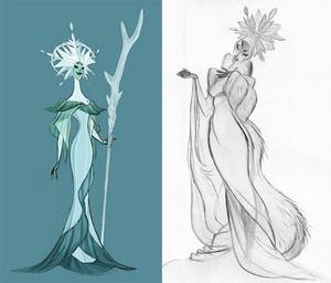 Early Elsa Concept Art