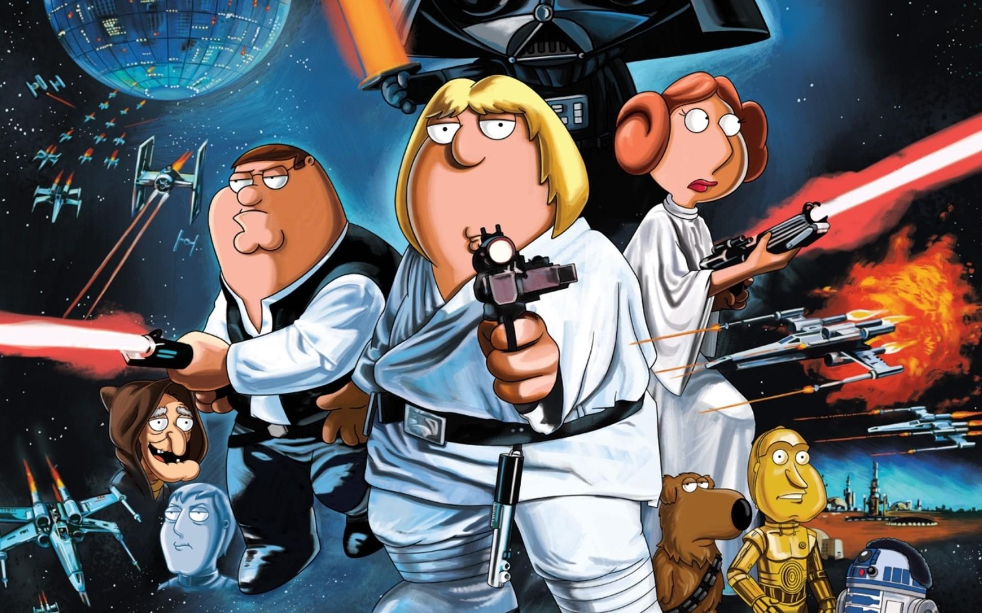 Family Guy ngôi sao Wars