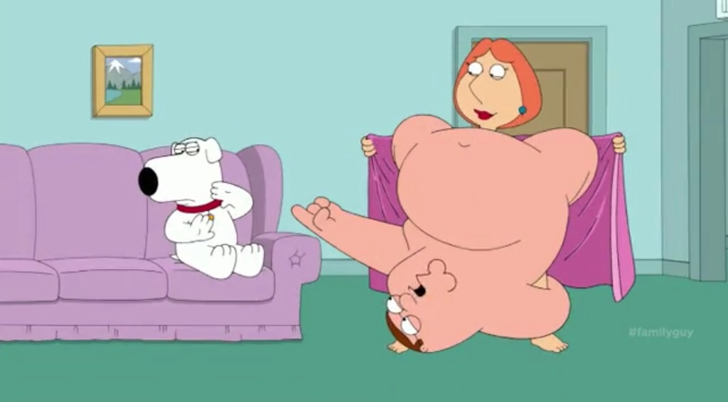 family guy lois naked