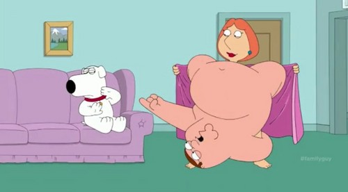 Family Guy Hintergrund containing Anime titled Nude Peter