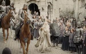 Faramir and Gandalf