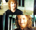 Pippin and Faramir