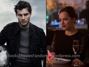Jamie and Dakota,aka Christian and Công chúa Anastasia
