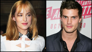 Jamie and Dakota,aka Christian and Anastasia