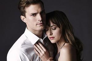 Jamie and Dakota's first hình ảnh as Christian and Công chúa Anastasia