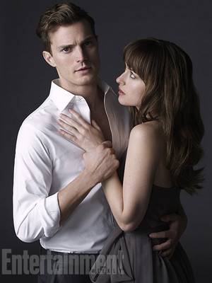 Christian and Anastasia(aka Jamie Dornan