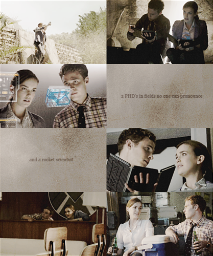 FitzSimmons Обои possibly containing a newspaper entitled 【Marvel's Agents of SHIELD 2x02 | Fitz & Simmons】
