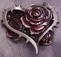 Thorns-and-Roses-belt-buckle-flowers - flowers photo