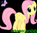 Fluttershy Glancing Icon - fluttershy photo