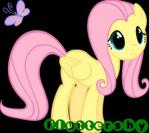 Fluttershy Glancing Icon