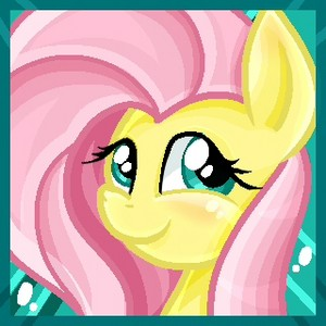 Fluttershy Blushing icone