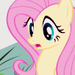 Fluttershy Surprised Icon - fluttershy icon