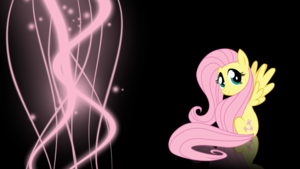 Fluttershy Lights wolpeyper