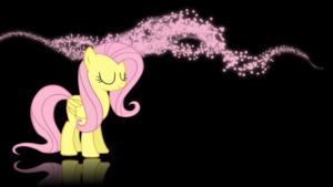 Fluttershy Mist Wallpaper