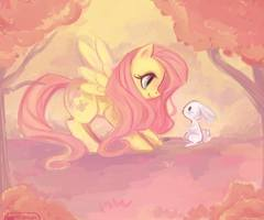 Fluttershy and 앤젤