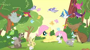 Fluttershy with Nature