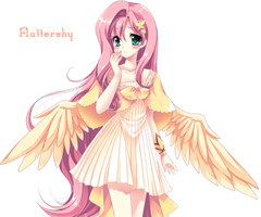 Fluttershy as a Human
