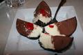 Tartufo - Italian ice-cream dessert