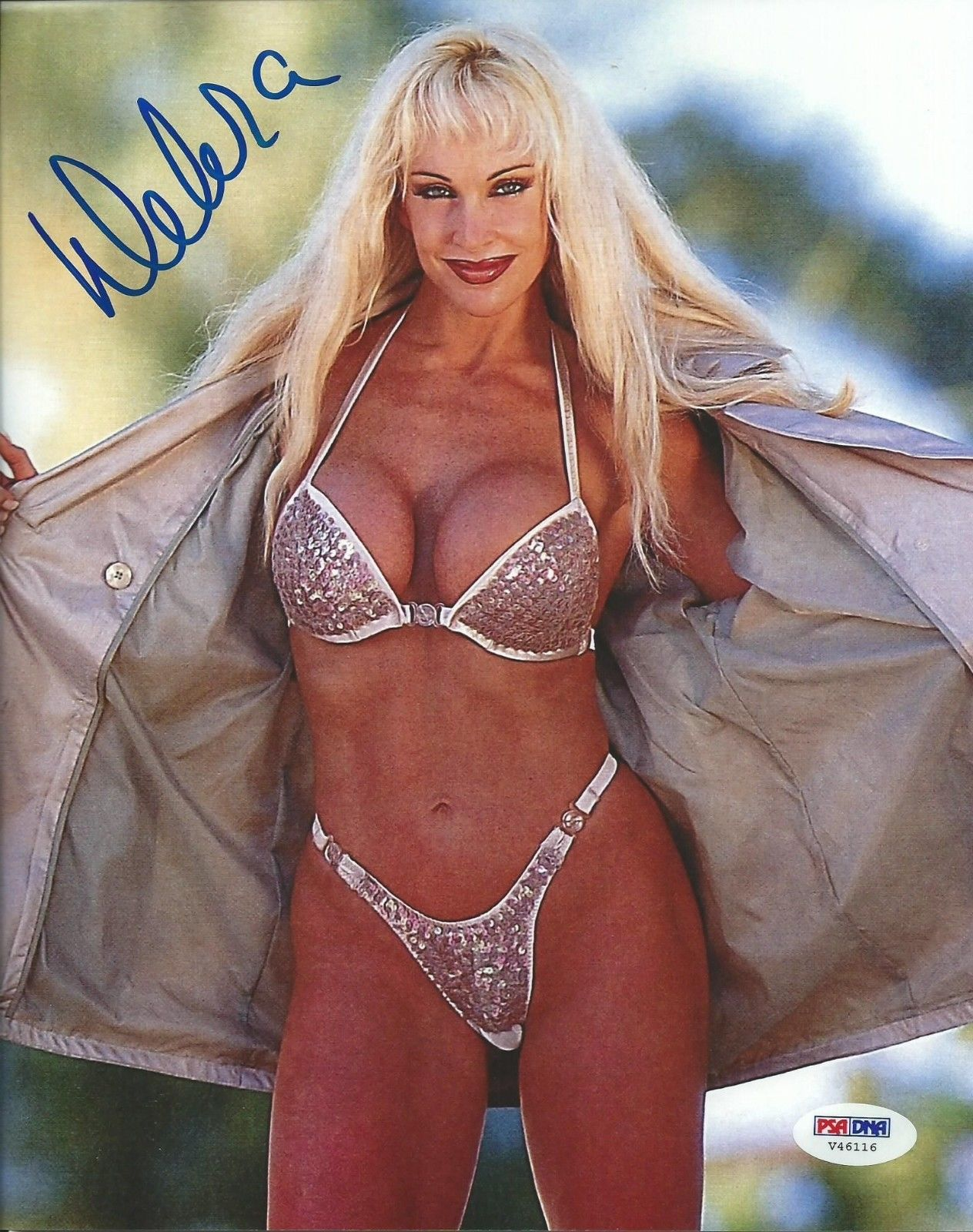 High Quality Autograph - Open Jacket/Bikini