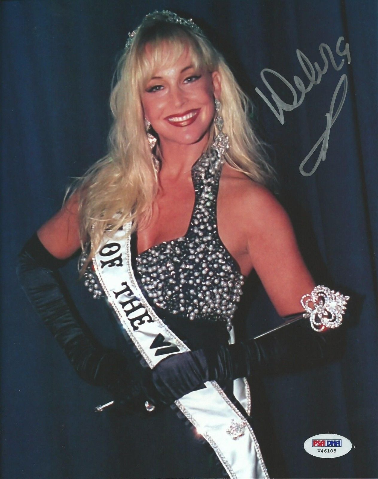 High Quality autograph - Queen of WCW