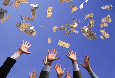 Money grabbers