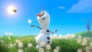Olaf dancing in Summer