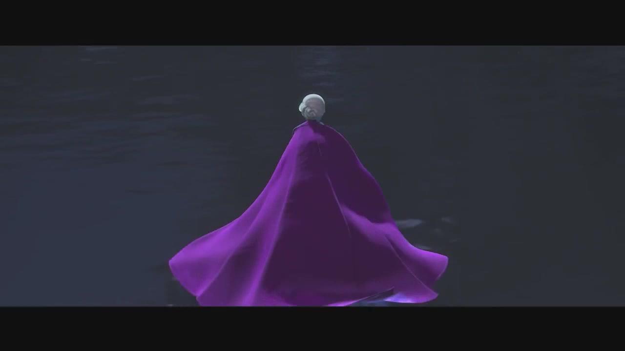 Frozen Frozen music video screencaps