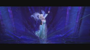 Frozen musik video screencaps