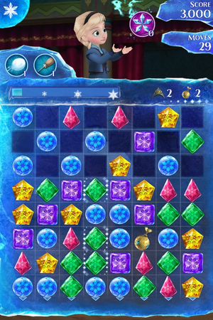 Frozen Free Fall app Screenshots