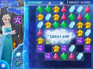Frozen Free Fall Screenshots