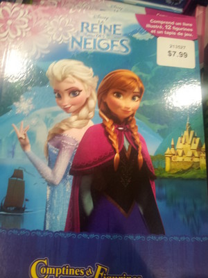 Frozen French Book
