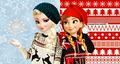 Modern Elsa and Anna