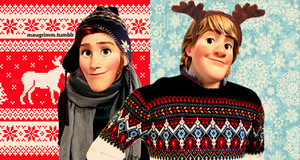 Modern Hans and Kristoff