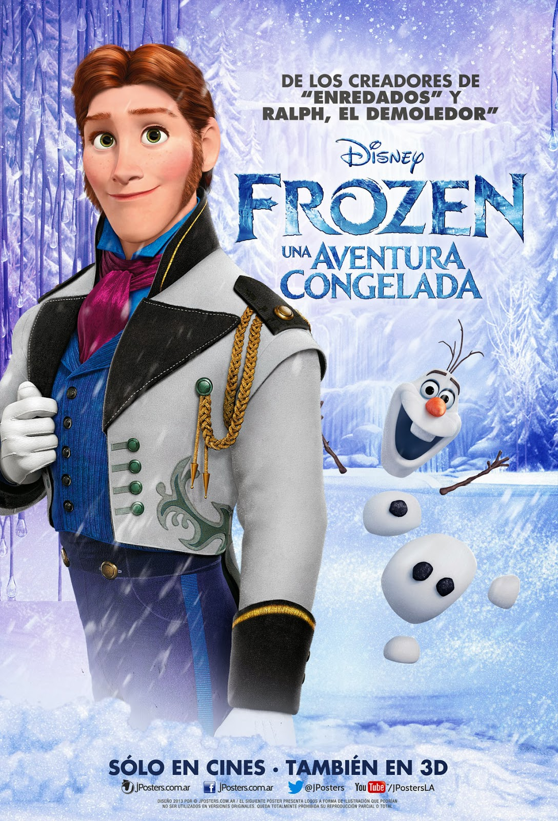 Hans Poster Frozen Photo 36141514 Fanpop