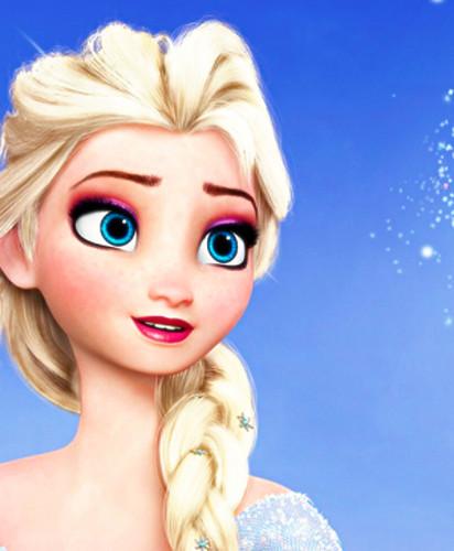 Холодное сердце Обои probably containing a portrait titled Elsa, the Snow Queen