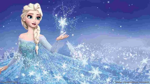 frozen fondo de pantalla entitled Elsa, the Snow queen