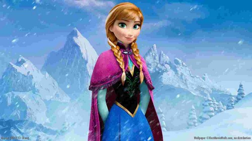 nagyelo wolpeyper called Princess Anna