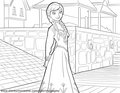 Frozen - Uma Aventura Congelante Coloring Pages