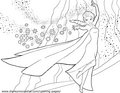 La Reine des Neiges Coloring Pages