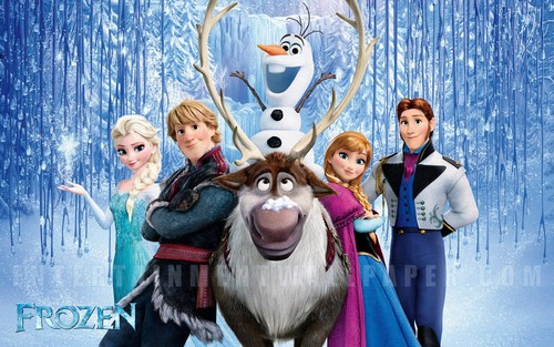 Frozen پیپر وال called Frozen پیپر وال