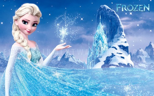 Frozen wallpaper entitled Elsa wallpaper