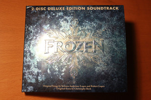 frozen Soundtrack Deluxe Edition