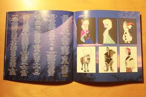 《冰雪奇缘》 Soundtrack Deluxe Edition booklet