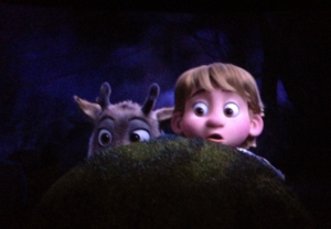 Baby Kristoff and Sven