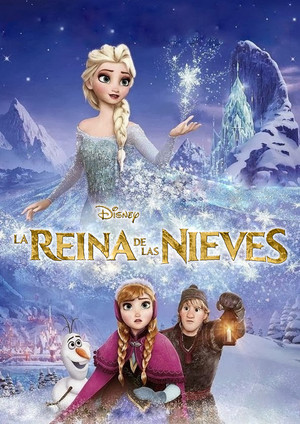 La Reine des Neiges Spanish fan Posters