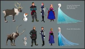 Frozen Character