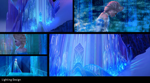 Frozen Lighting design