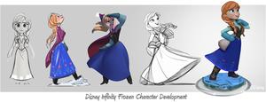 Anna Disney Infinity Character Development